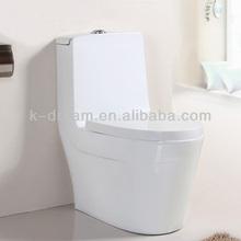 Ceramic Hotel Sanitarios Baño Inodoro de una pieza Portable