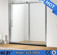 sliding open style and polish frame surface finishing China factory shower room
