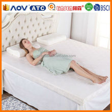 China Wholesale Bed Linsen Plain Military Mattress Cover