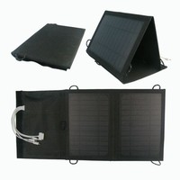 DC5V 1A output solar rechargeable bag portable solar bag for camping