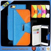 Premium mobile phone book style leather flip case for Azumi A50C with magnet