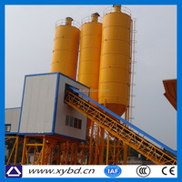 Building construction concrete mixing plant hzs120 types of batching plant