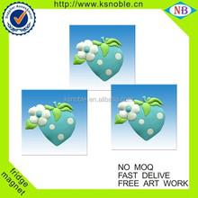 custom manufacturer fridge magnet/pvc Coated paper led fridge magnet