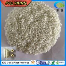 Reinforced PA6 plastic pellets glass filled nylon