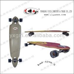 4295 complete bamboo longboard skateboard