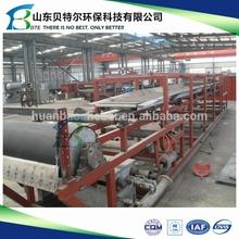 belt type vacuum filter for sewage treatment machine