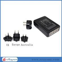 good quality home charger 40 watt 6 port usb dktoesp charger/6 port usb charger /6 usb charger