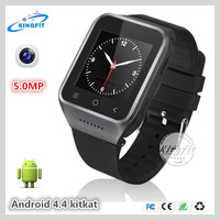 2G GSM 3g single micro sim card slot touch screen avatar et1 android OS 4.4 wrist watch mobile cell phone with WIFI GPS G-sensor