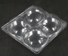 Disposable plastic take away sushi food plate Fruit tray