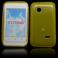 mobilephone soft tpu case for Sony-Er xperia tipo/st21i