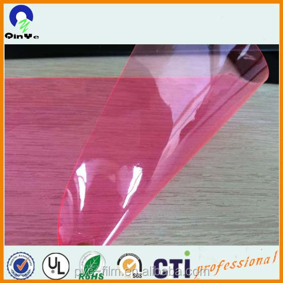 Clear Colored Soft Flexible Vinyle Pvc Fabric Material For Garments ...
