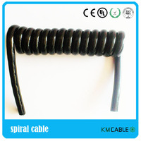 Car brake pipe 7cores coiled cable