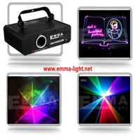 DMX+ILDA+SD+analog Multi color 1w rgb laser light/dj lights/stage light/ laser light/laser projector