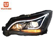 TLZ2013-2015 SUBARU Forester (with daytime running) Q5 double optical lens xenon headlight assembly