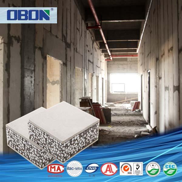 Obon fire proof foam concrete wall panel for bathroom for Foam concrete walls