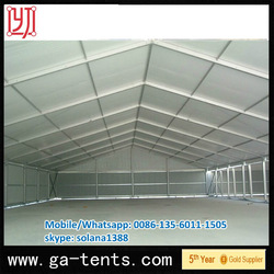 Shanghai 2013 sturdy hard pressed extruded aluminium Elegan design pole marquee parts for wedding party with