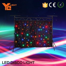 Experienced Producer Rgbw Star Curtain Led Light Effect