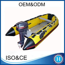 12 ft inflatable boat with outboard motor inflatable fishing boat for sale