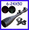 New 6-24x50 AOE Optics Air Rifle Scope Sight Gun Free Rail Mounts Outdoor HOT