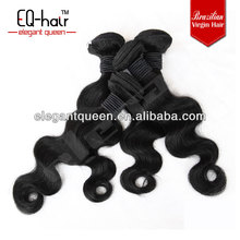 New quality natural color no chemical processed virgin remy brazilian body wave hair