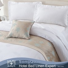 New Style 300TC Feather Pattern hotel living sheets luxury duvet covers bedding(SQJC150194)