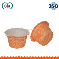 Dots Printed PE Coated Paper Baking Cup Cupcake for cakes Jag edge