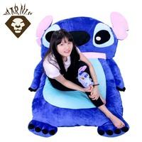 1.5M*1M futon Tatami Plush stuffed Stitch sleeping bed baby floor mattress big toy gift