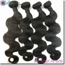 Direct Factory Wholesale Remy Body Wave Jet Black Indian Hair