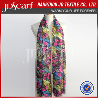 butterfly adult toy for women polyester Printing scarf digital printed scarf