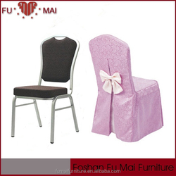 Polyester/Spandex Pink nice wedding chair cover/chair clothes
