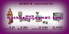 peanut butter machine line with the capacity 200kg per hour
