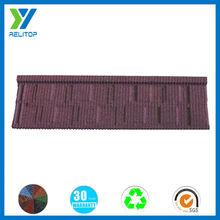 High quality stone coated type steel shingle roof tile