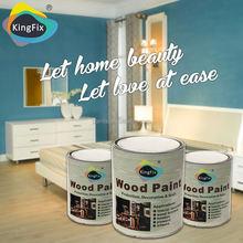 Free Samples KINGFIX wood board abrasive resistant nc refinish wood furniture varnish