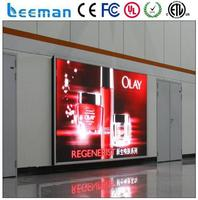 led taxi top advertising Leeman P3 LED display video cricket live scores led display screen