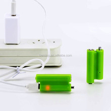 BS27 USB battery for replace two AAA dry battery, micro charging li-ion aa usb rechargeable battery AAA BBB