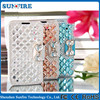 Bling bling case for samsung galaxy s2, leather flip case for samsung i9100 galaxy s2