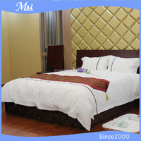 100% Cotton Embroidery Lace Bed Sheet Set