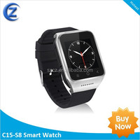 Android 4.4 smart watch 3G dual core android watch phone ZGPAX S8