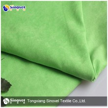 Polyester Micro Suede Fabric,Woven Suede Fabric for Decoration