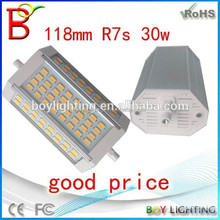 Boy factory r7s led 118mm dimmable 30w,r7s led,led bulbs r7s 78mm