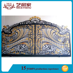 used wrought iron door gates /fence gate designs/ simple wrought iron gate