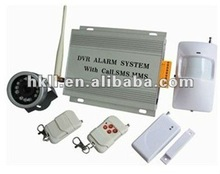 Home DVR GSM Alarm with Video Camera Monitoring