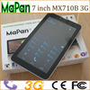 7 inch android tablet pc, wifi,front and back camera, 3g dual sim card phone built in gps
