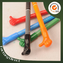 hand gestures erasable fancy ball pen(X-8823)