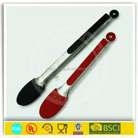 Heat Resistant Silicone Food Tongs Kitchen Tongs & bbq silicone scissor tongs