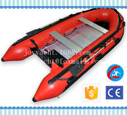 2015 Hot sale high quality 3.8m inflatable boat/rigid inflatable boat