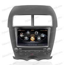 for Mitsubishi ASX touch screen car dvd parts with gps navigation system