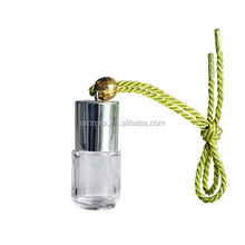 Hanging glass bottle new car smell perfume for car, car perfume