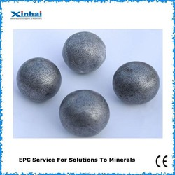 Forged Steel Ball For Ball Mill Machine , Forged Steel Grinding Balls Price