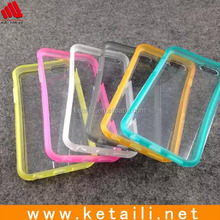 For iphone 6 transparent tpu phone case, tpu cell phone case, tpu mobile phone case